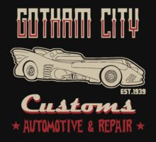 Gotham city customs by Buby87
