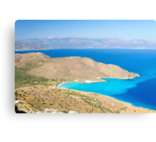 Spectacular scenery from Crete island, Greece Canvas Print
