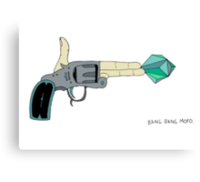 BANG BANG MOFO Canvas Print