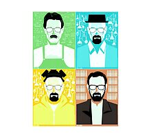 Walter White / Heisenberg Faces Breaking Bad by Dman329