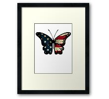 American Butterfly Framed Print