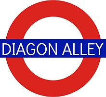 Diagon Alley Station - Harry Potter by -gallifreya-