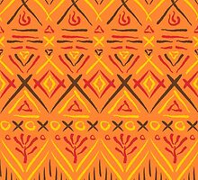 Tribal ethnic print by portare-fortuna