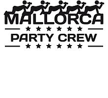 Party Crew drinking alcohol Drinking Team Mallorca by Style-O-Mat