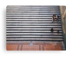 Stair Rest Canvas Print