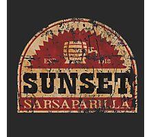 Sunset Sarsaparilla Photographic Print