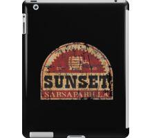 Sunset Sarsaparilla iPad Case/Skin
