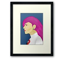 Painting Series - Jessie  Framed Print