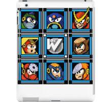 Megaman 2 Boss Select iPad Case/Skin