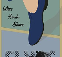 """Blue Suede Shoes"" Elvis Presley by Lyndsey Fletcher"