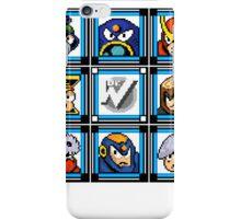 Megaman 2 Boss Select iPhone Case/Skin