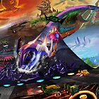 F-Zero Race of the Galaxy by FirebornForm