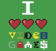 I love videogames by billycorgan48