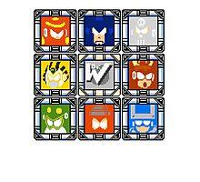 Megaman 4 Boss Select Photographic Print