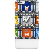Megaman 4 Boss Select iPhone Case/Skin