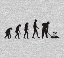 Evolution Gardening Kids Clothes