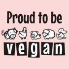 Proud to be vegan by nektarinchen