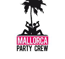 Mallorca Party Crew Team boozing friends by Style-O-Mat