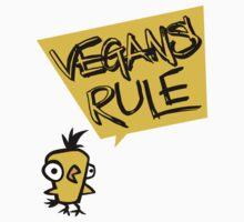 Vegans rule Kids Clothes