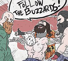 Follow The Buzzards by NikittyCat