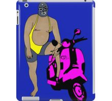 Zed Blue iPad Case/Skin