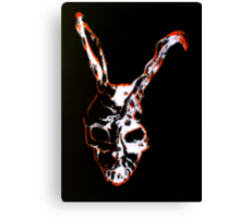 Frank the Bunny from Donnie Darko Canvas Print