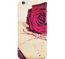 Kiss Goodbye iPhone Case/Skin