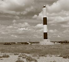 Black and White Lighthouse by Lexx
