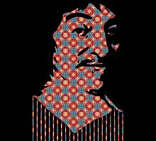 Rene Descartes (Patterned) by taudalpoi