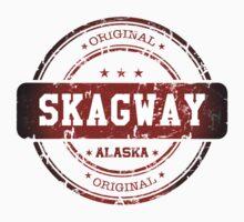 Skagway Alaska Stamp by dejava