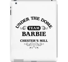 Under The Dome Team Barbie iPad Case/Skin