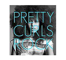 Pretty Curls Rock Photographic Print
