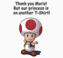 Thank you Mario! But... by IndigoWildcat
