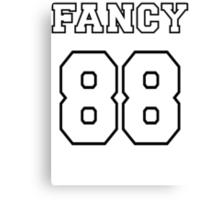 Fancy 88 - on light colors Canvas Print