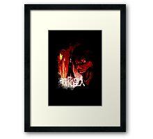 Titan Eren Form Framed Print