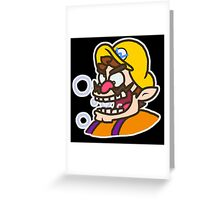 Wario: Live and Reloaded Greeting Card