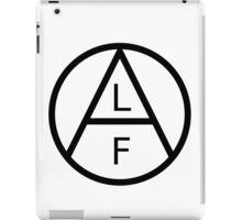ANIMAL LIBERATION FRONT iPad Case/Skin