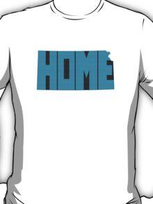 Kansas HOME state design T-Shirt