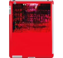 Our Nothing - Glitch Art (Bloody Mess) iPad Case/Skin