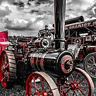 Foster Traction Engine by Trevor Kersley