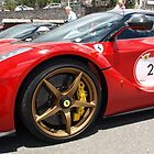 Flat Ferrari Tires by Janone