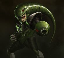 Snake Man by Alcoz