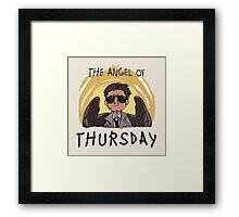 Angel of Thursday Framed Print