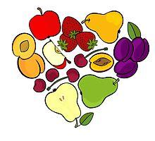 I love fruit! by demonique