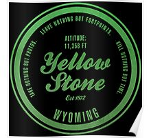 Yellow Stone National Park, Wyoming Poster