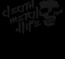Skull Death Metal 4 Life by Style-O-Mat