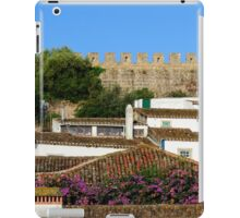 Traditional architecture in Medieval Portuguese Town of Obidos iPad Case/Skin