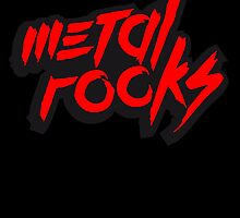 Metal Rocks Logo Design by Style-O-Mat