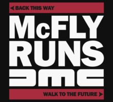 McFly Runs DMC - Back This Way, Walk to the Future by Florgoth