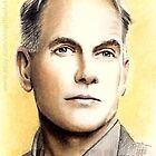 Mark Harmon miniature by wu-wei